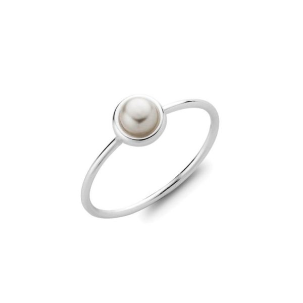 Silver Pearl Ring The Silver Store