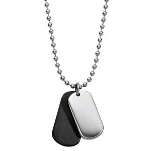 personalised megs dog tag necklace