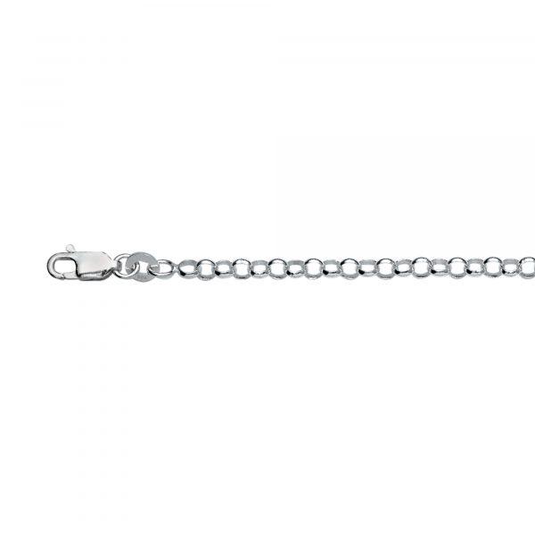 silver belcher bracelet