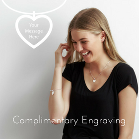 Personalised Jewellery engraved free at The Silver Store