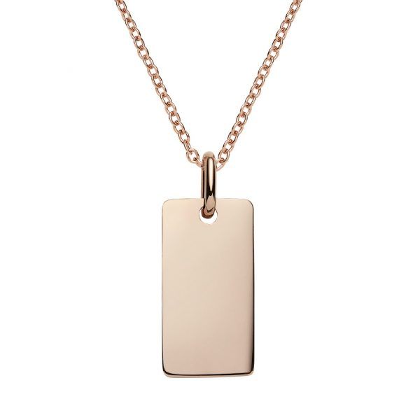 rose gold bar necklace ca