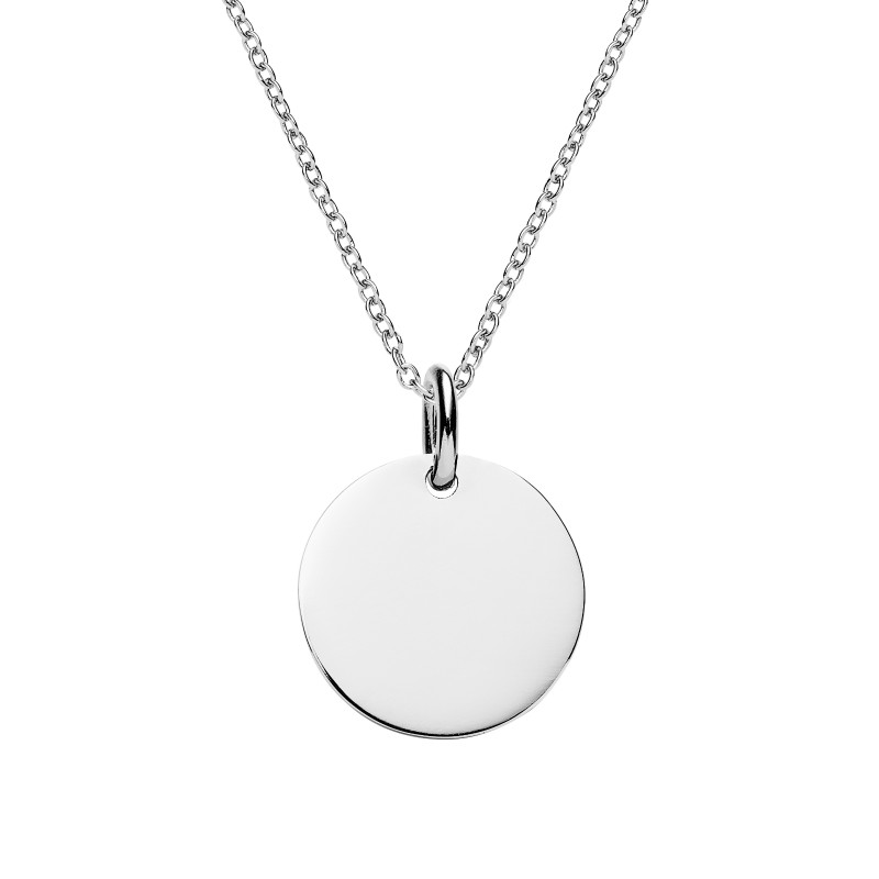 disc double fields gold size ie full necklace