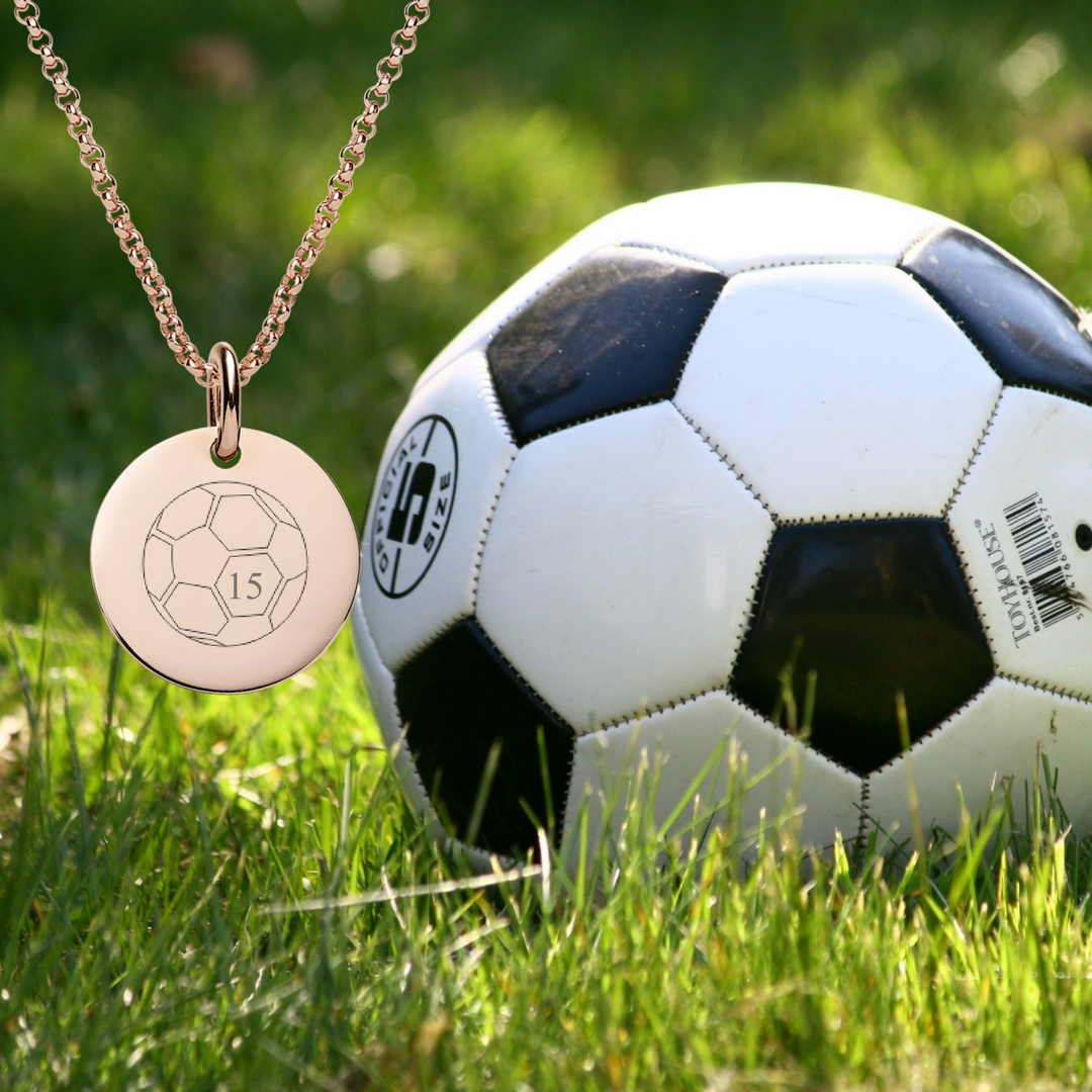 engraved sport necklace