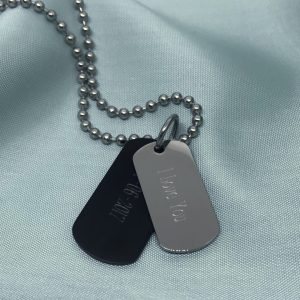 love you men's necklace