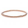 rose gold bead elastic bracelet
