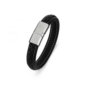 men's leather bracelet engravable