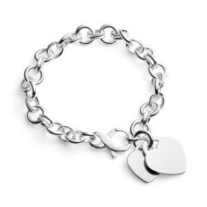 personalised belcher bracelet