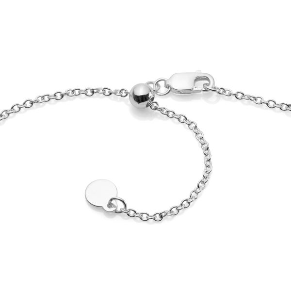 silver sliding adjustable chain