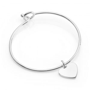 sterling silver bangle that opens