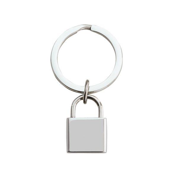 Engraved Lock Keyring