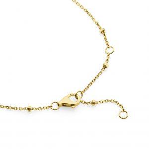yellow gold satellite chain