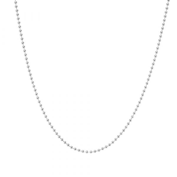 925 silver 2.5mm ball chain for men