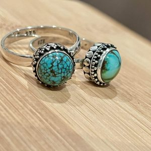 turquoise dress ring
