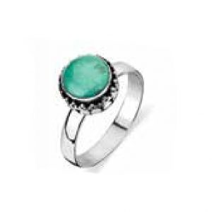 sterling silver turquoise dress ring