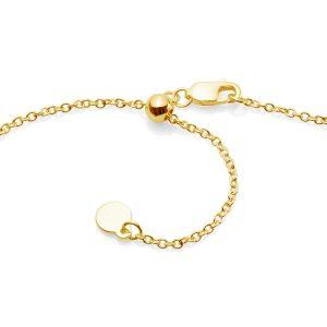 slider chain yellow gold
